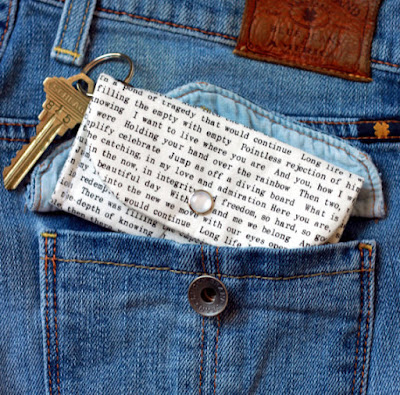 Book Lover Keychain Wallet from Etsy Courtesy of Tomes and Tequila Blog