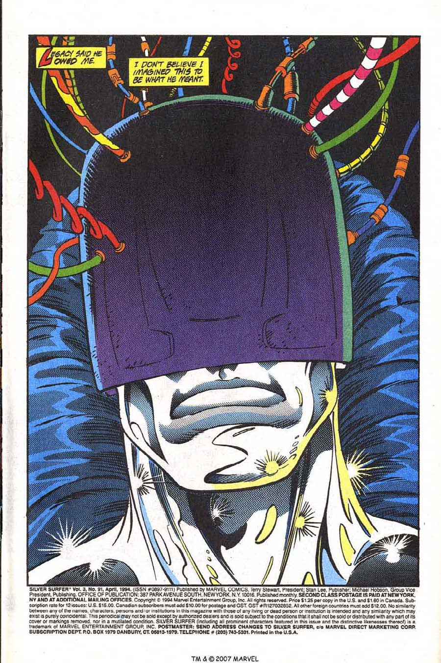 Read online Silver Surfer (1987) comic -  Issue #91 - 3