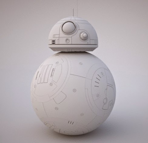 image about Bb 8 Printable referred to as Stinsons All Aspects Star Wars Weblog: BB-8: Comprehensive Scale and