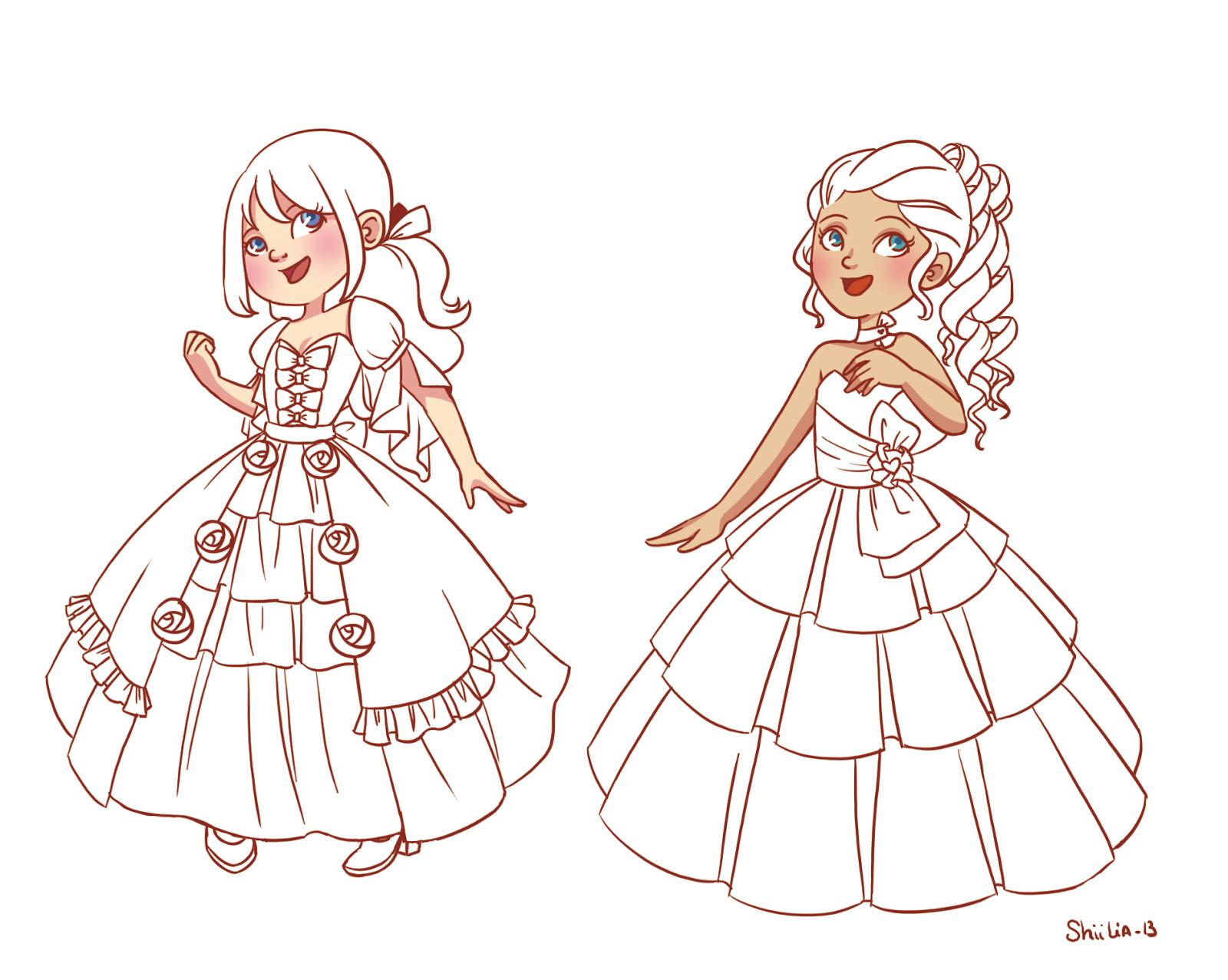 Coloriage Fille A Imprimer Princesse.Coloriage Filles A Imprimer Liberate