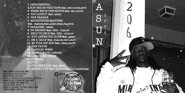 """ASUN 2003"" LP by Suntonio Bandanaz"