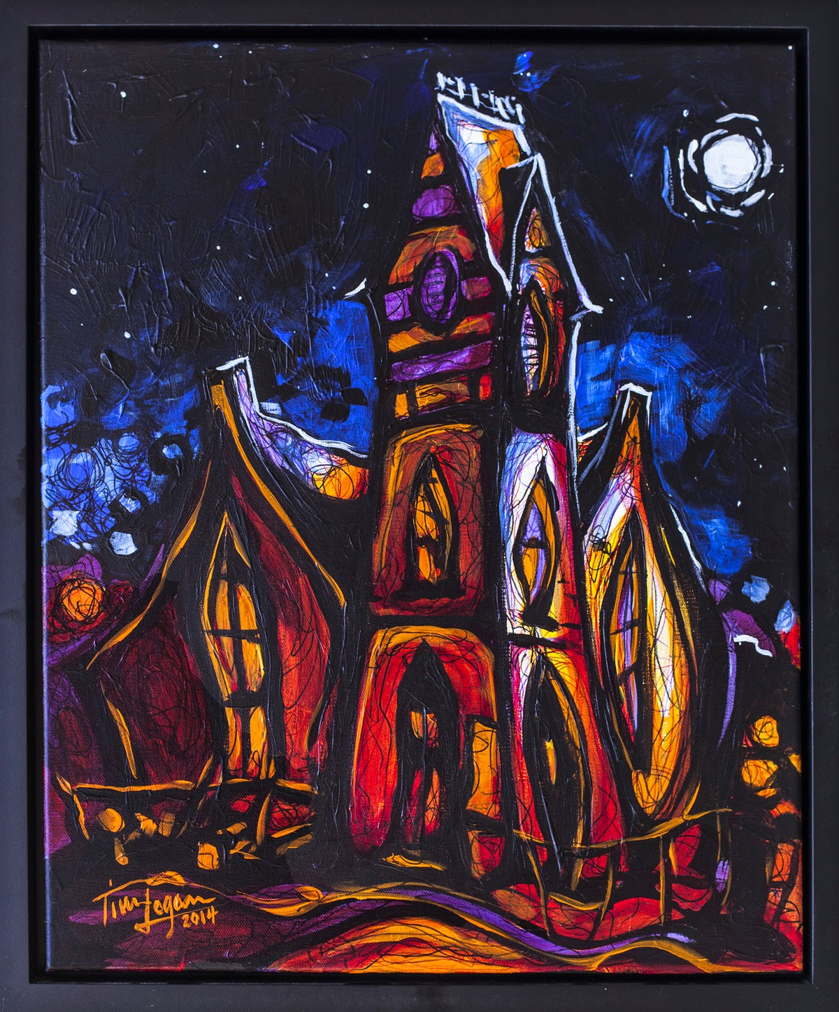Sonata - First Presbyterian Church Eureka Springs by Tim Logan