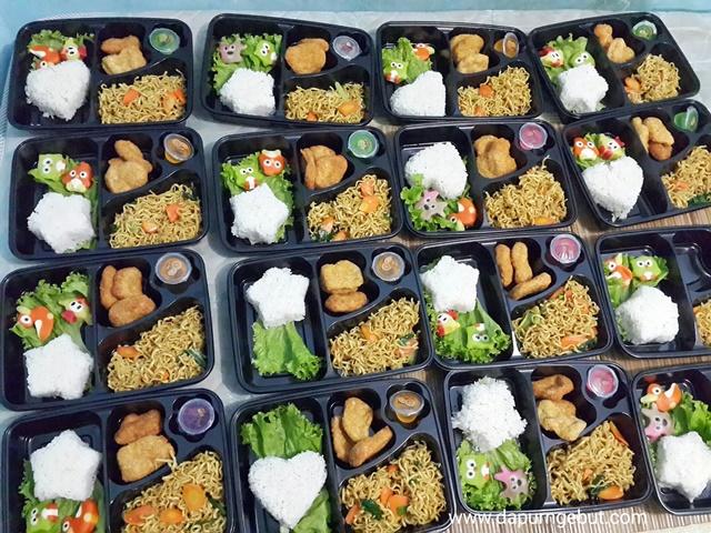 Membuat Bento Untuk Acara Ulang Tahun Dd Irsyad Di Sekolah Dapur