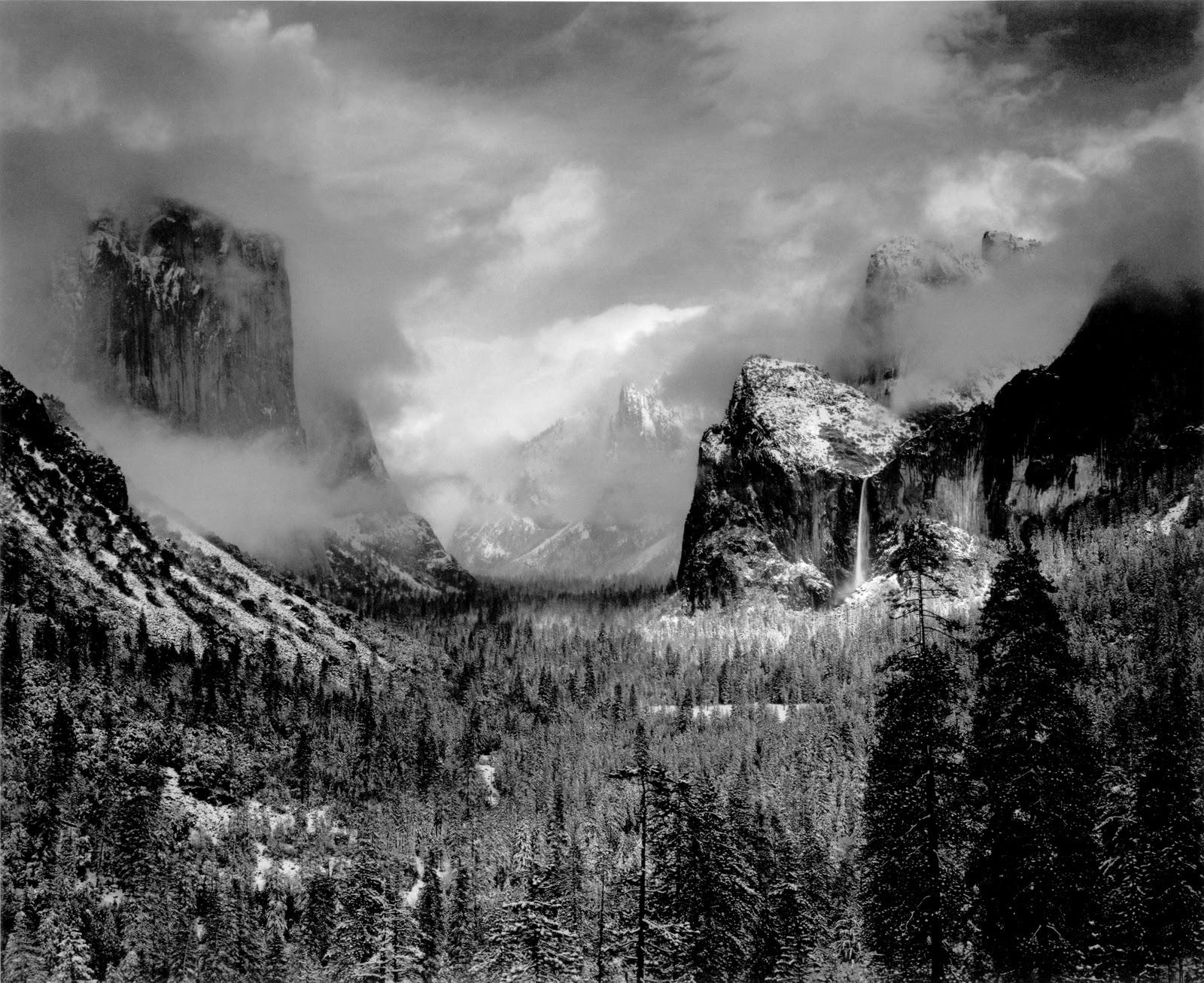 Michela Castelnuovo Photos: Ansel Adams Ansel Adams Clearing Winter Storm Wiki