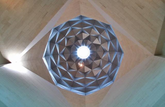 Una visita al Museo de Arte Islámico de Doha Vistas Interior cúpula