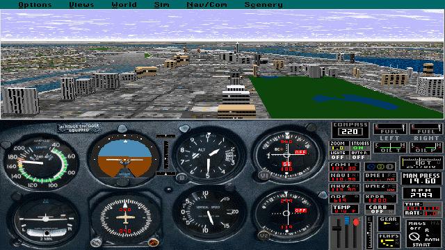Microsoft Flight Simulator (V5.0) - Image du Jeu