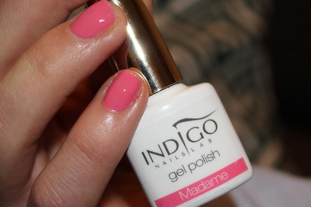 Różowe paznokie lakier hybrydowy indigo opinia hybryda malowanie jaki kolor