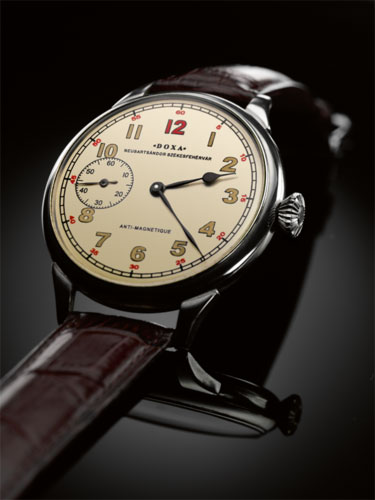 A címben szereplő állítás egy cseppet sem túlzó  hazánkban évtizedek óta a  Doxa jelenti a minőségi óra fogalmát a nagyközönség számára. 577138726d