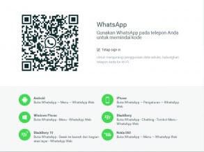 QRCode Cara Simpel Sadap WA WhatsApp 2018