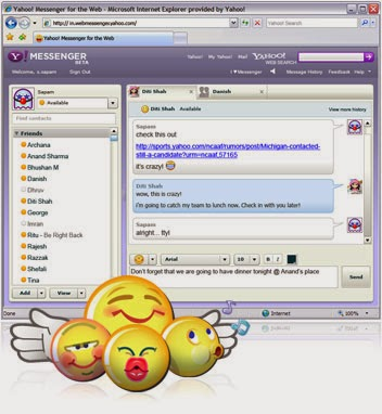 Yahoo chat Messenger Free Download
