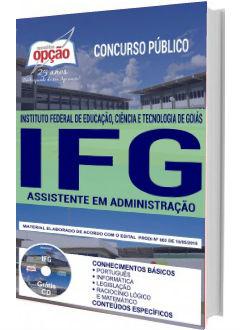 Apostila IFG 2018 Assistente em Administração