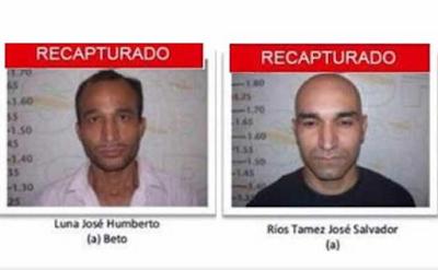 En NL recapturan a 2 reos fugados del penal de Cd. Victoria Tamaulipas