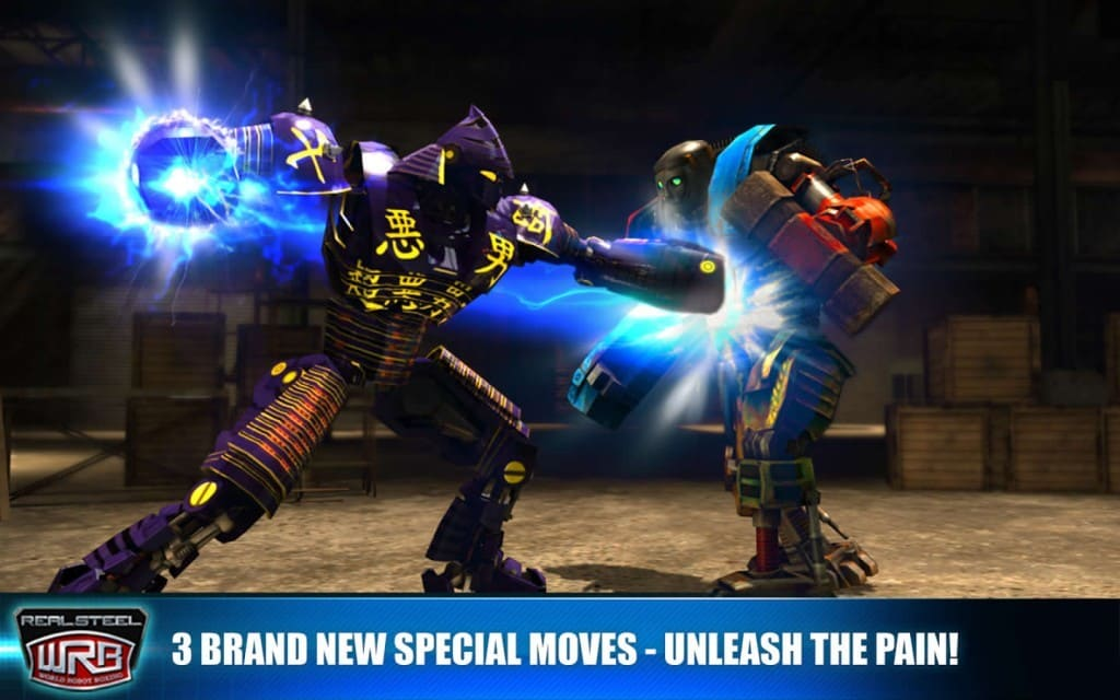 Real Steel World Robot Boxing mod , Real Steel World Robot Boxing apk , Real Steel World Robot Boxing مهكرة , Real Steel World Robot Boxing مهكرة اخر اصدار , لعبة Real Steel World Robot Boxing مهكرة للاندرويد