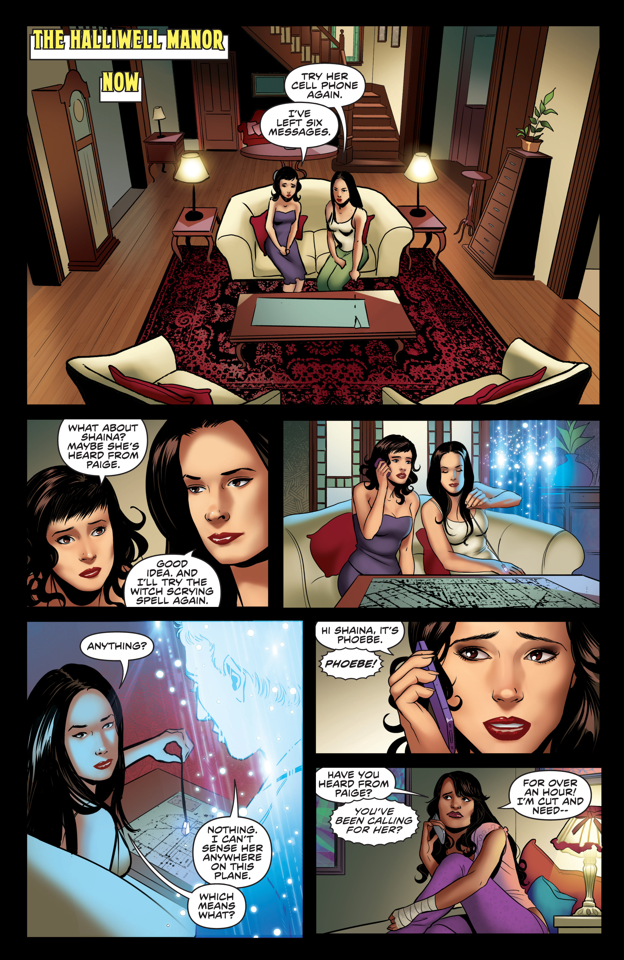 Read online Charmed (2017) comic -  Issue #4 - 17