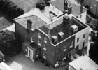 Photograph of Moffats House from the air taken in the 1970s. Image from the NMLHS