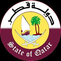 Logo Gambar Lambang Simbol Negara Qatar PNG JPG ukuran 200 px