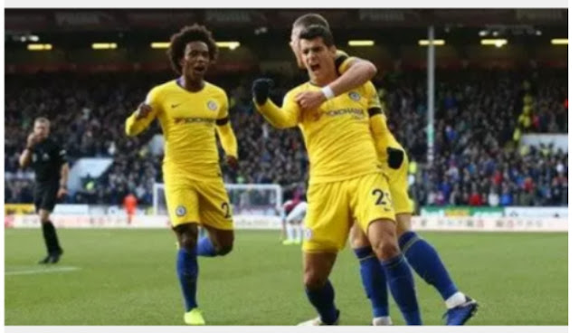 Maurrizio sorry makes history  in Chelsea's victory over burnley