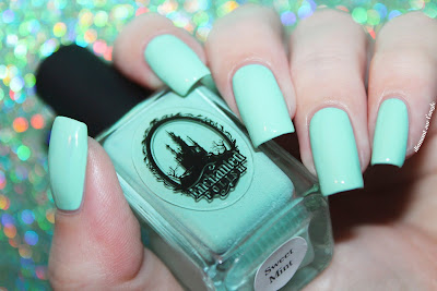 "Swatch of the nail polish ""Sweet Mint"" from Enchanted Polish"