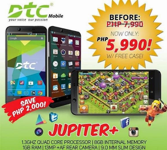 Get Php2000 Off On Quad Core DTC Jupiter Plus