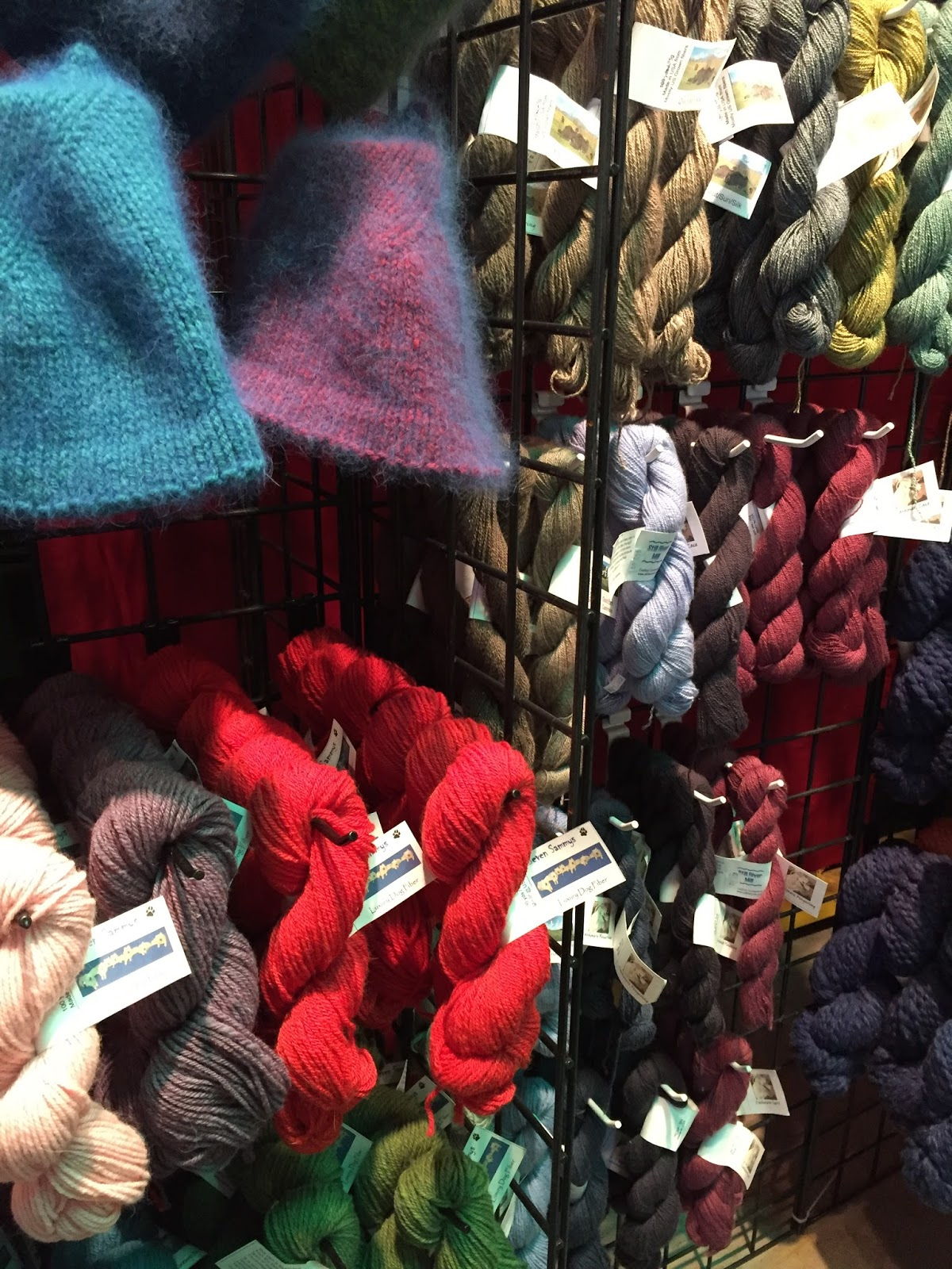 Life and Yarn or Yarn and Life: Stitches United and CT Sheep