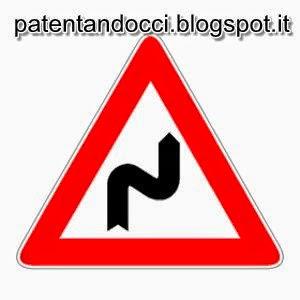 Patentandocci: Doppia Curva pericolosa la prima a Destra