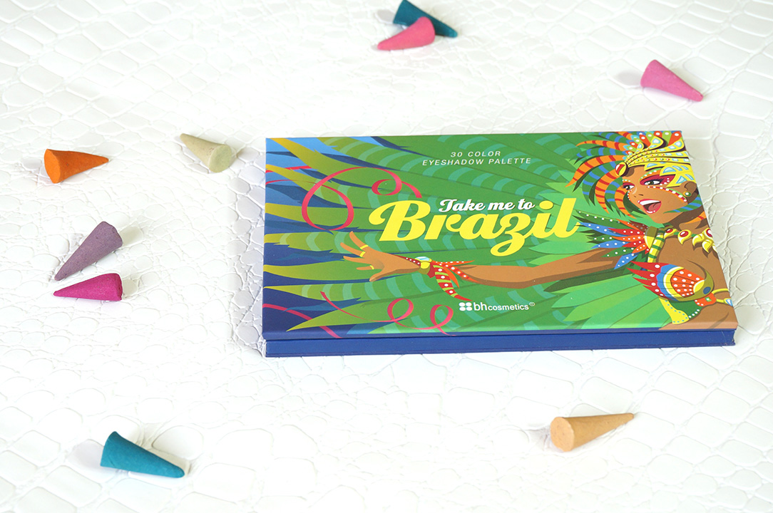 Bh Cosmetics Take Me To Brazil Eyeshadow Palette Real Life With