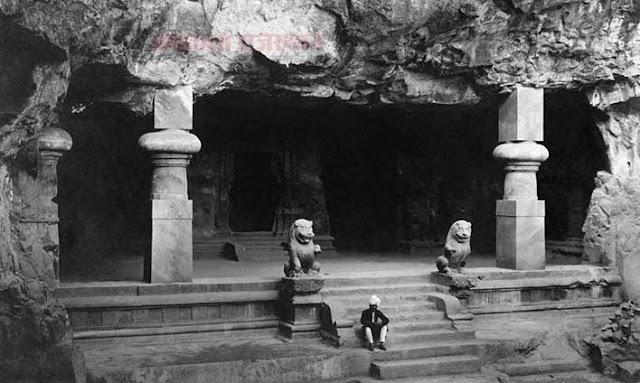 कैमरे ने वो देखा जो किसी ने नहीं देखा, Elephanta Caves 1900