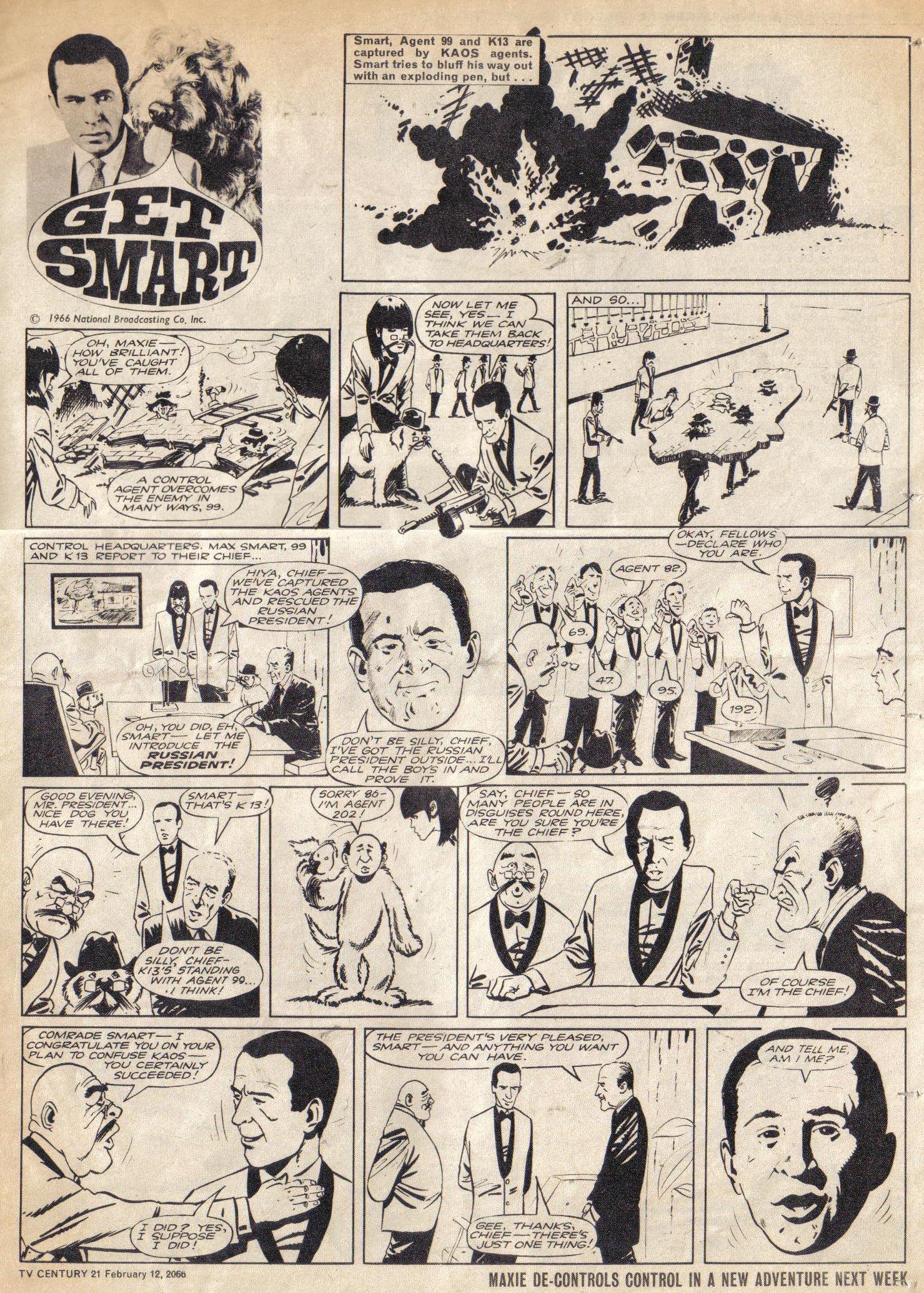 Read online TV Century 21 (TV 21) comic -  Issue #56 - 14