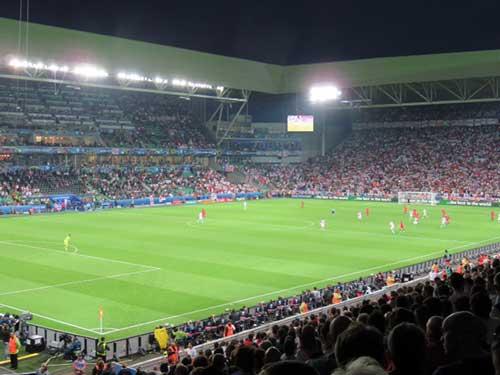 St. Etienne, Euro 2016, France.