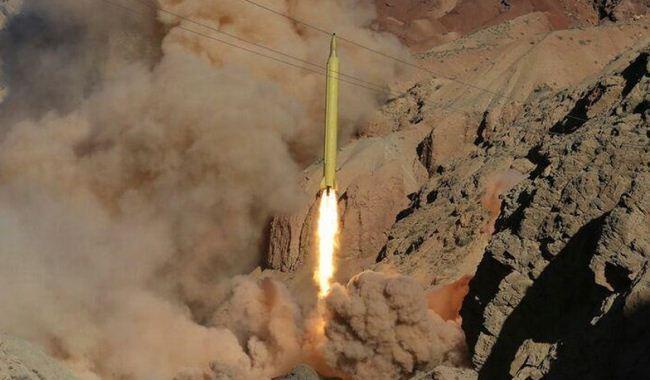 Rudal balistik Ghadr 110 Iran