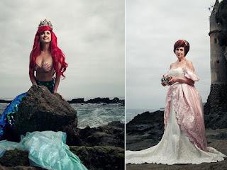 Fotógrafo retrata princesas da Disney como rainhas anos depois