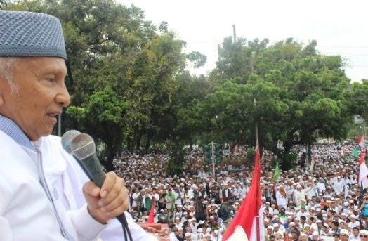 Amien Rais Pimpin Warga Muhammadiyah Gabung Aksi 55