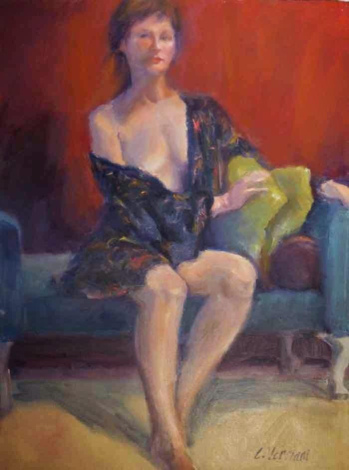 Художница-экспрессионист. Claudia Verciani