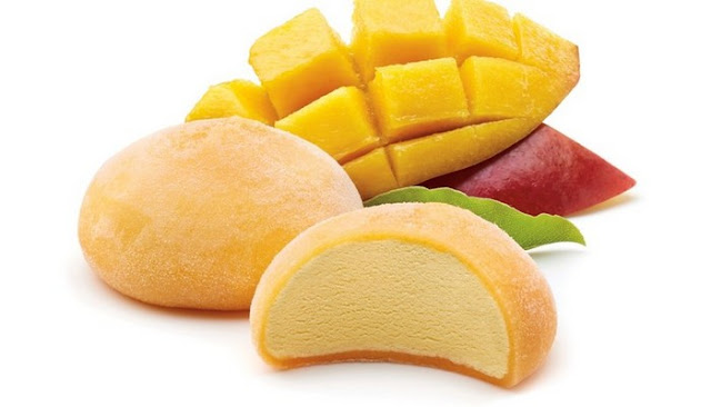 mango ice cream mochi recipe