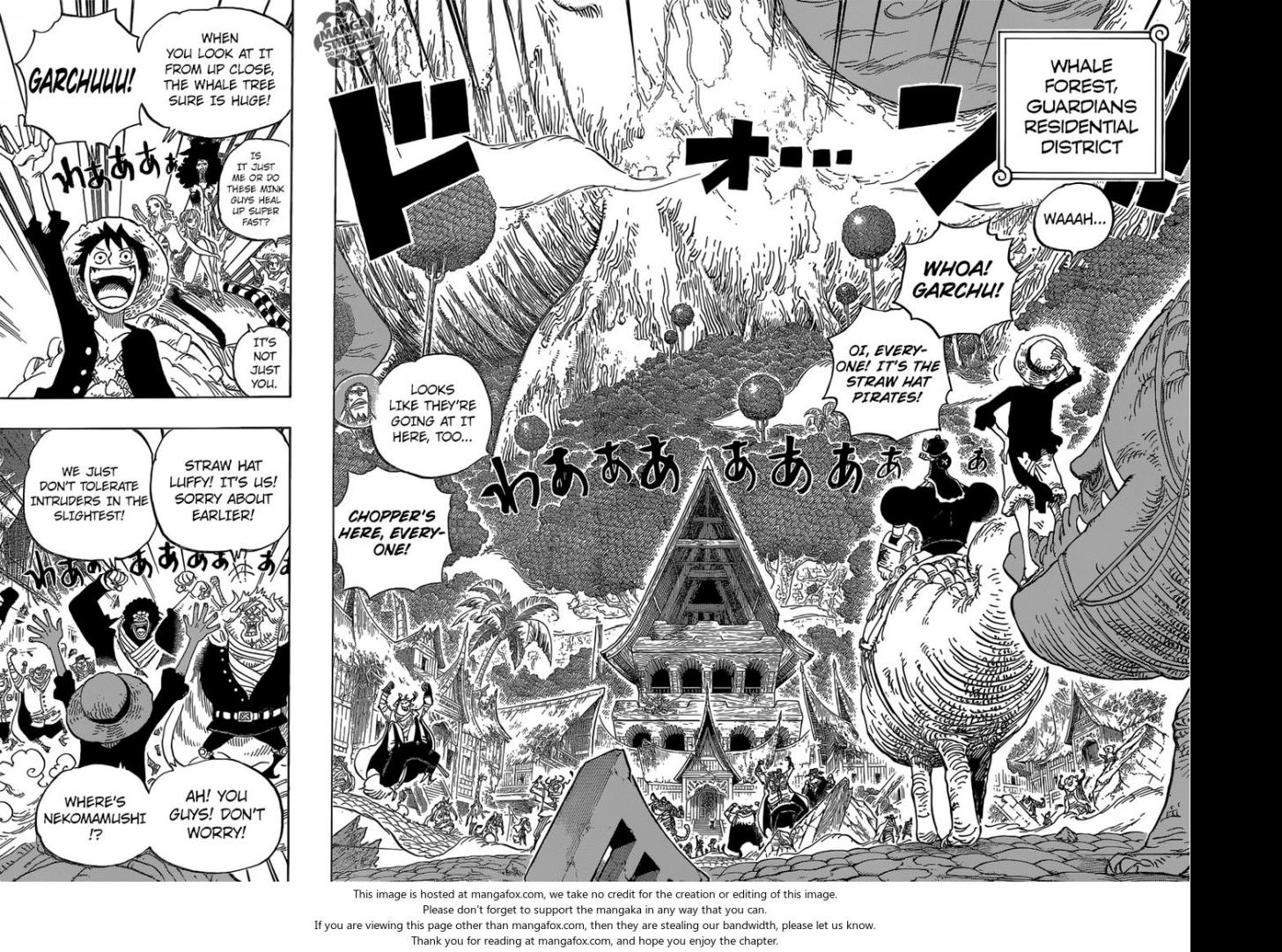 One Piece Ch.814: Let's Go to See Master Nekomamushi