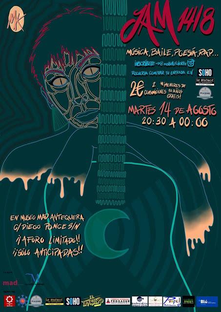 Jam Session 14/08 en el MAD de Antequera