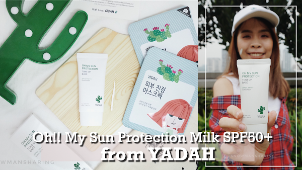 YADAH Oh My Sun Protection Tone Up Base Sunscreen SPF 50+ PA++++