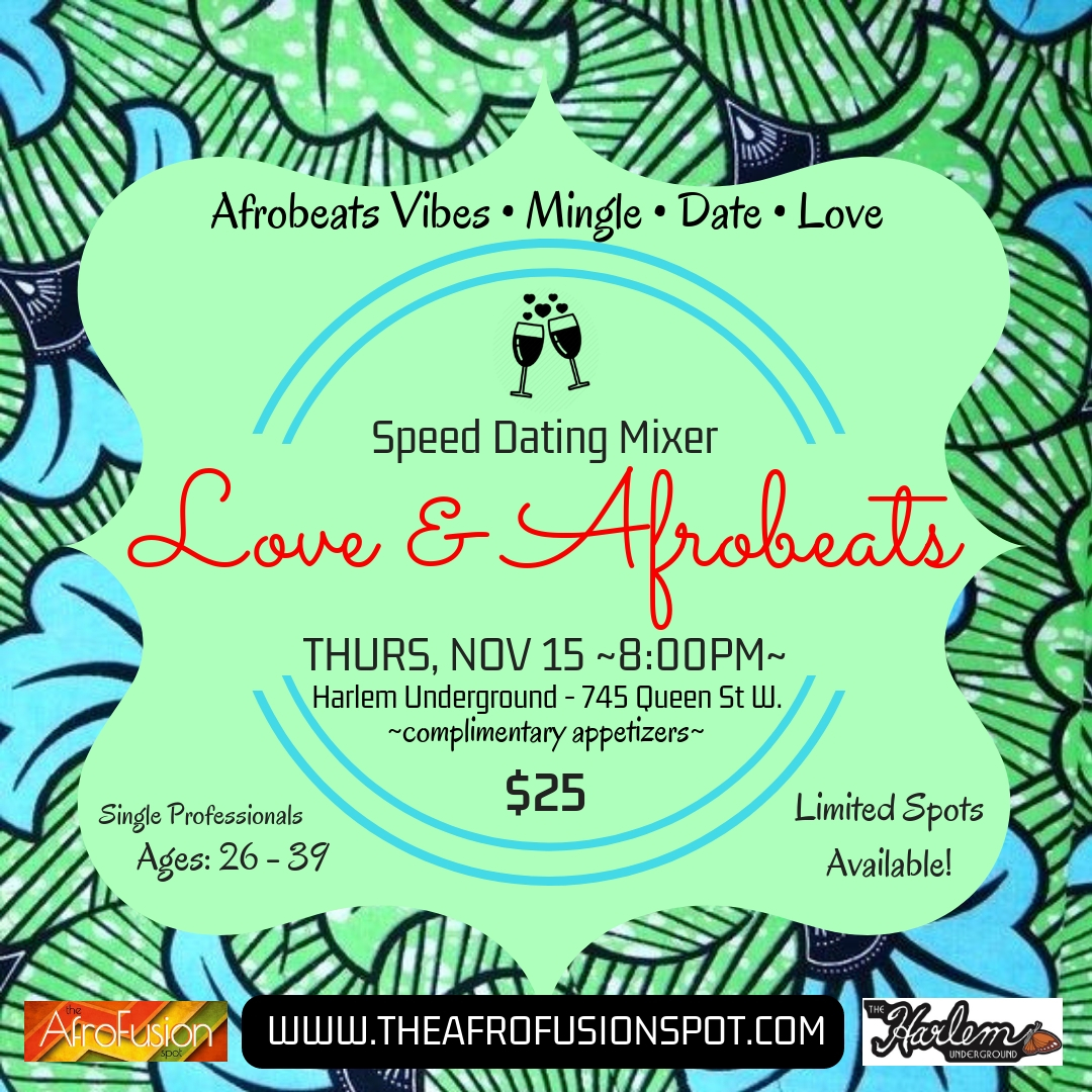 afro caribbean speed dating