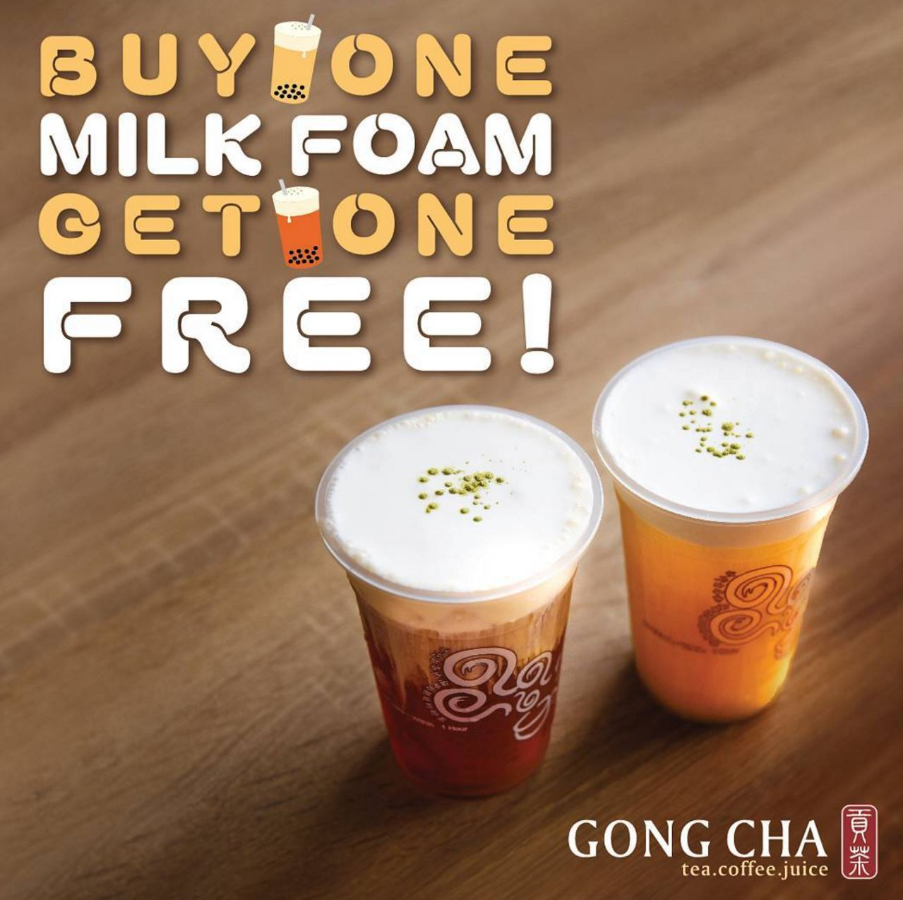 Mar. 25 - 26 | Gong Cha Celebrates Grand Opening In Buena Park With Bogo Free Deals