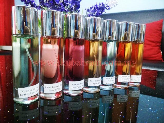 Perfume jenama lancome yang wangi