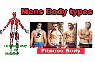 what are the mens body types