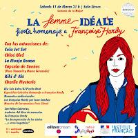 La Femme Idéale, fiesta homenaje a Françoise Hardy en Siroco