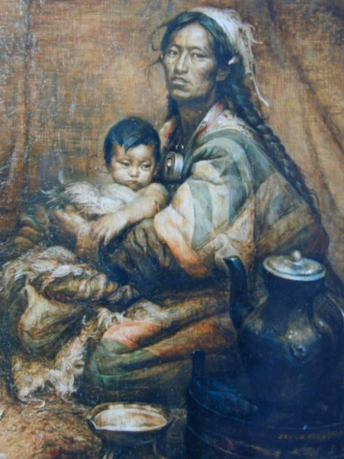 Микеланджело и Мао Цзэ Дун. Luping Zeng