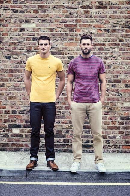 Primark online: camisetas de color de la colección de Farrell de Primark