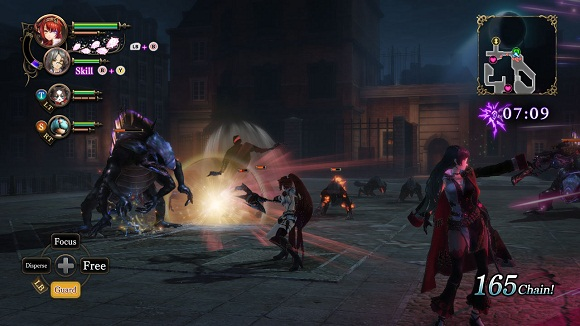 Nights of Azure 2 Bride of the New Moon PC Free Download Screenshot 2