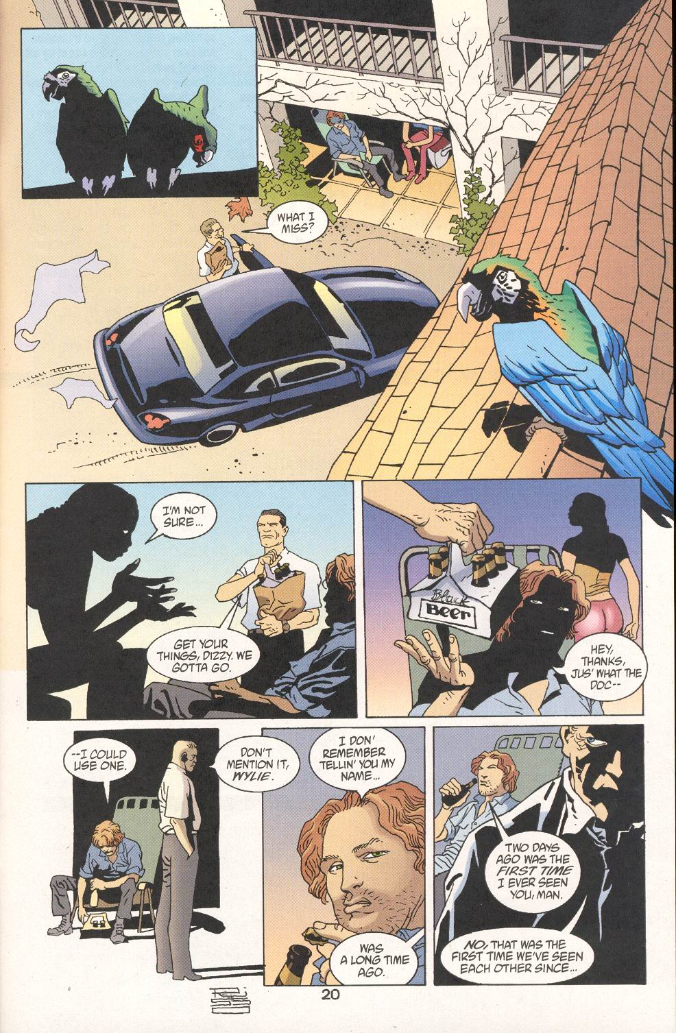 Read online 100 Bullets comic -  Issue #30 - 22