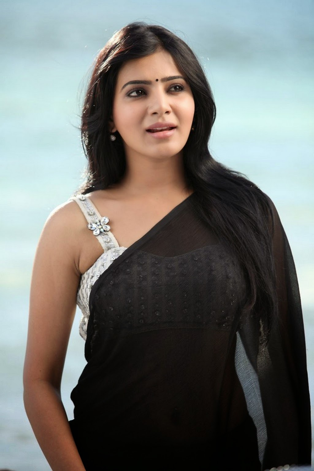 Actress Hd Gallery Samantha Cute Saree Hd Hot Photo -5507