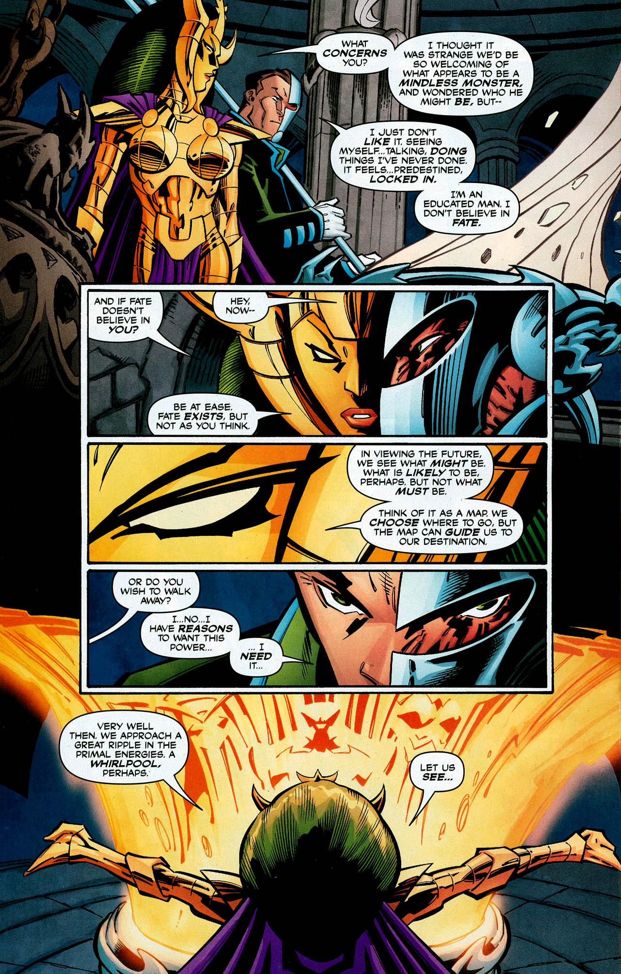 Read online Trinity (2008) comic -  Issue #1 - 33