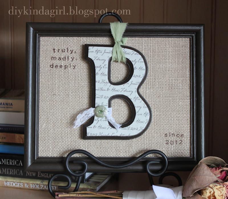 Wedding Gift Ideas For People Who Have Everything: DIY Kinda Girl: My Latest Wedding Gift
