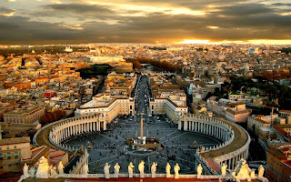 Rome Italy Cityscape HD Wallpaper